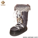 Stiched Snow  Boots